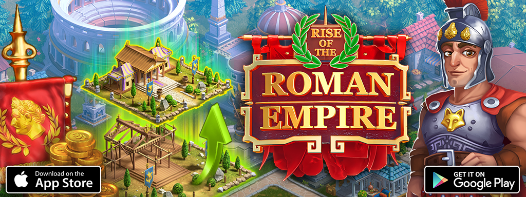 New strategy game Rise of the Roman Empire for iOS and Android devices!