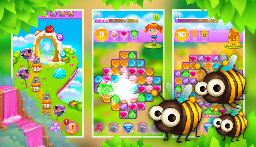 Screenshot № 4. Download Gingerbread Story and more games from Realore website