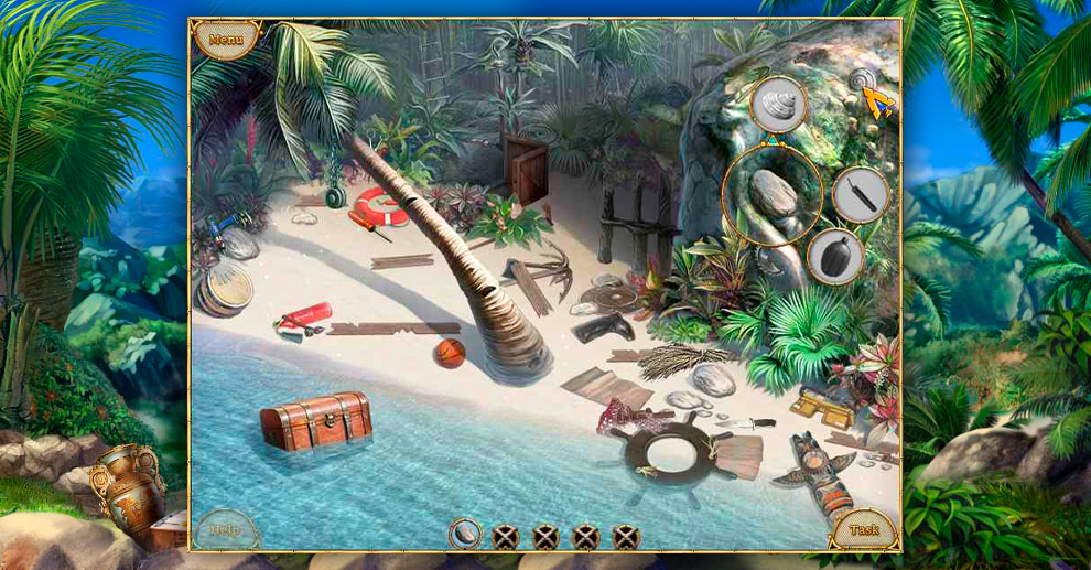 Screenshot № 2. Download Escape From Lost Island and more games from Realore website