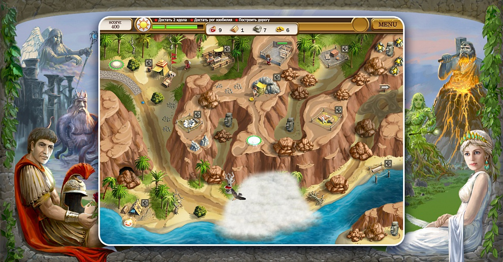 Screenshot № 2. Download Roads of Rome 2 and more games from Realore website