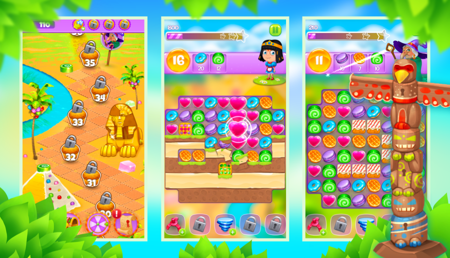 Screenshot № 5. Download Gingerbread Story and more games from Realore website