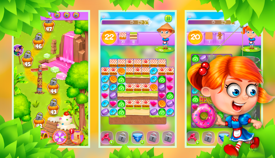 Screenshot № 3. Download Gingerbread Story and more games from Realore website