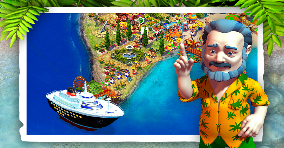 Screenshot № 1. Download Paradise Beach 2 and more games from Realore website