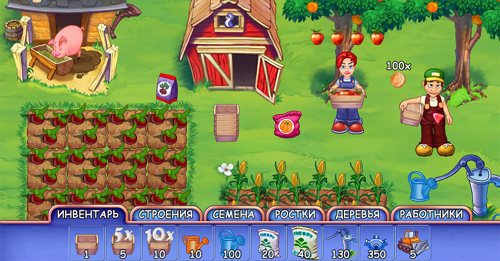 Screenshot № 3. Download FarmCraft and more games from Realore website