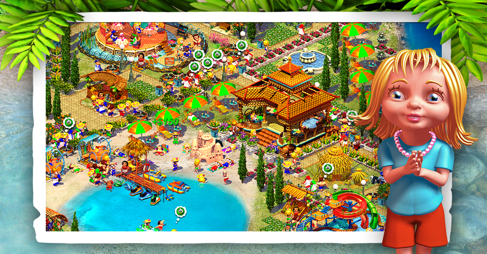 Screenshot № 3. Download Paradise Beach 2 and more games from Realore website