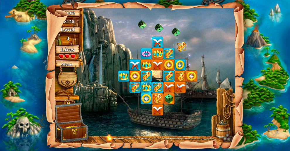 Screenshot № 1. Download Treasure Island 2 and more games from Realore website