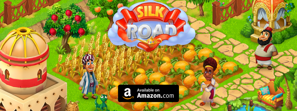 Update of Silk Road is avaible on Amazon!