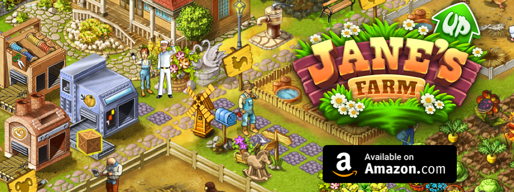 Update of Jane's Farm is avaible on Amazon!
