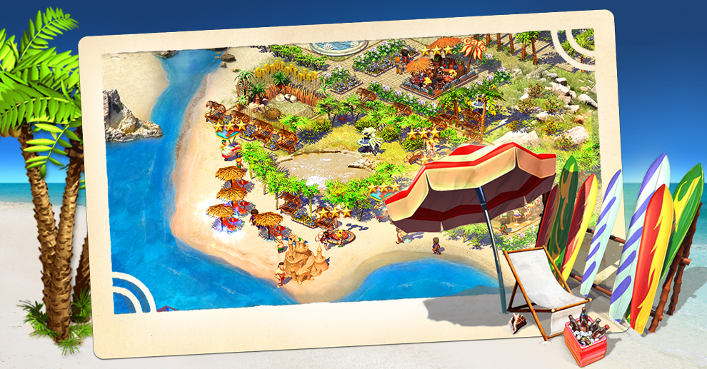 Screenshot № 1. Download Paradise Beach and more games from Realore website