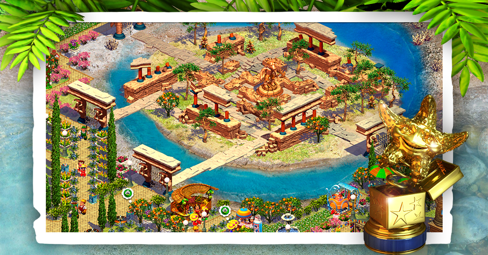 Screenshot № 5. Download Paradise Beach 2 and more games from Realore website