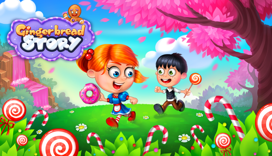 Screenshot № 1. Download Gingerbread Story and more games from Realore website