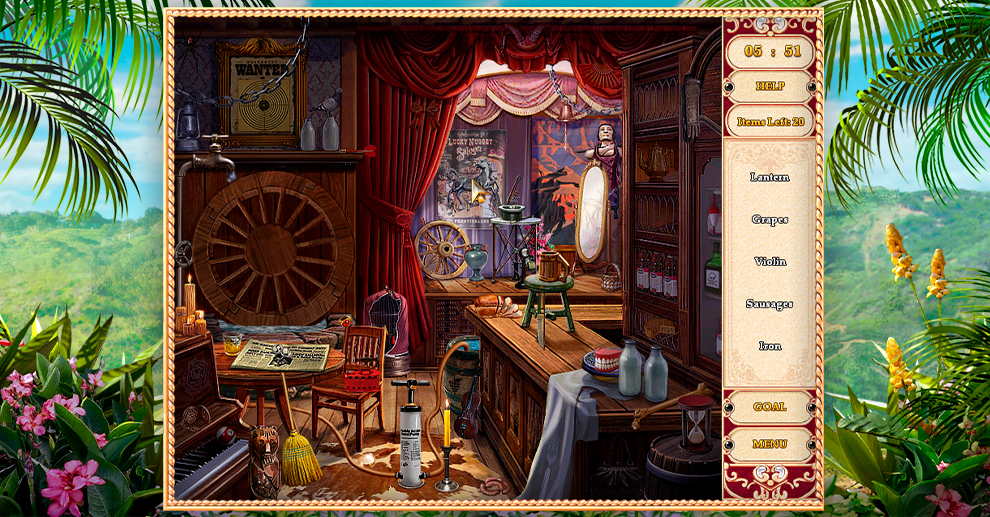 Screenshot № 4. Download Detective Stories: Hollywood and more games from Realore website