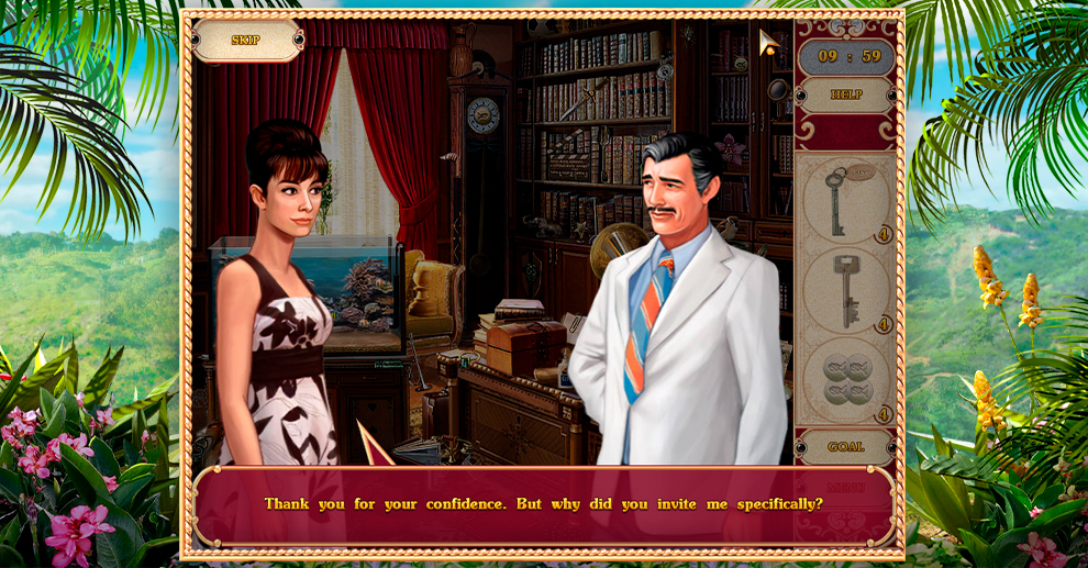 Screenshot № 2. Download Detective Stories: Hollywood and more games from Realore website