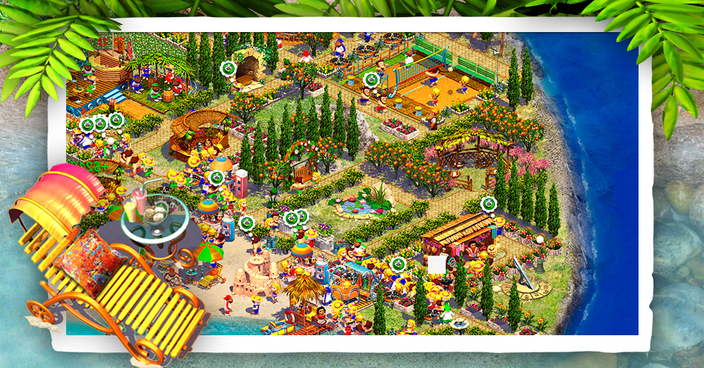 Screenshot № 4. Download Paradise Beach 2 and more games from Realore website