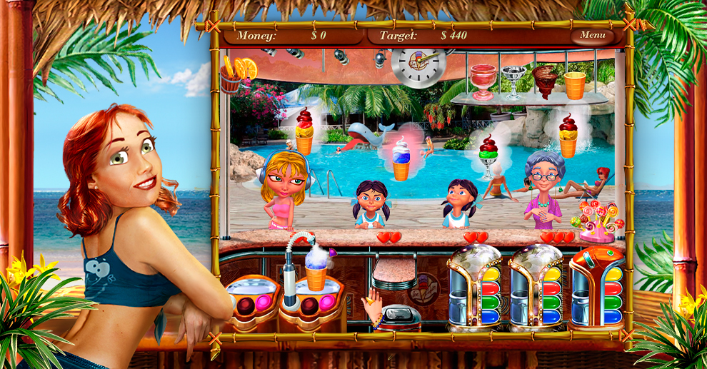 Screenshot № 2. Download Ice Cream Mania and more games from Realore website