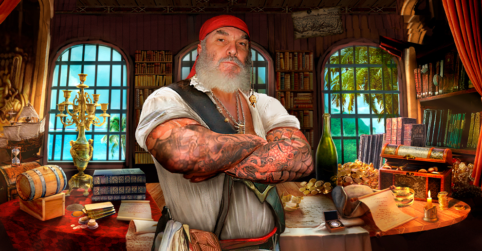 Screenshot № 1. Download Legends of Pirates and more games from Realore website