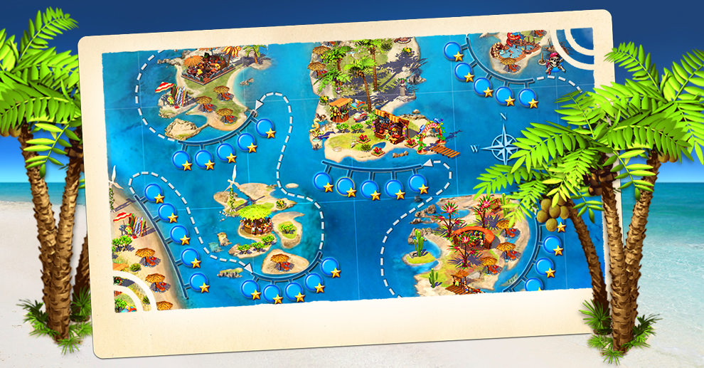 Screenshot № 5. Download Paradise Beach and more games from Realore website