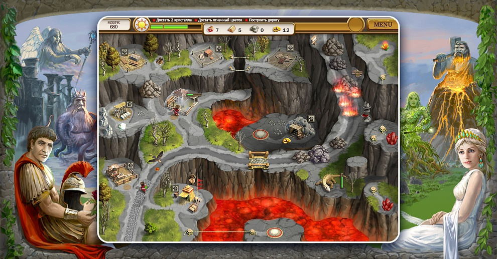 Screenshot № 3. Download Roads of Rome 2 and more games from Realore website