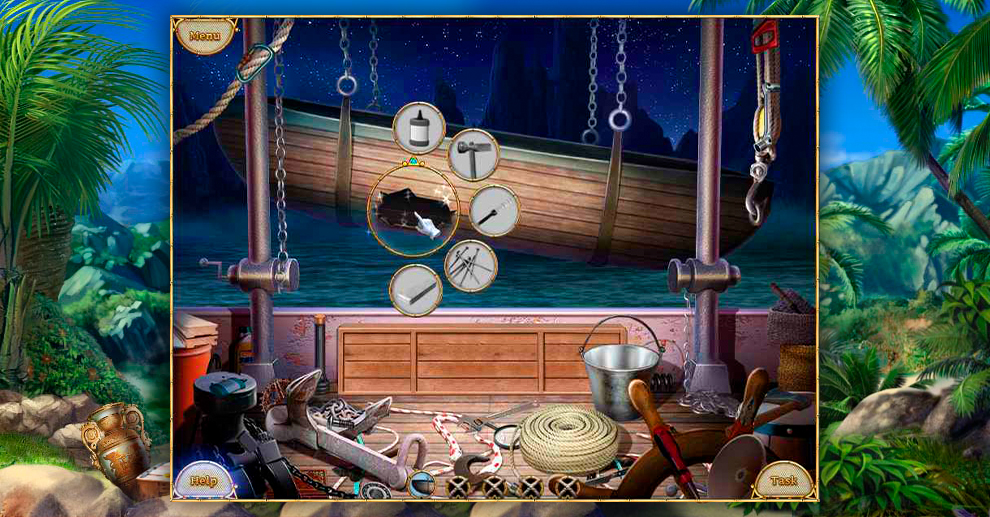 Screenshot № 1. Download Escape From Lost Island and more games from Realore website