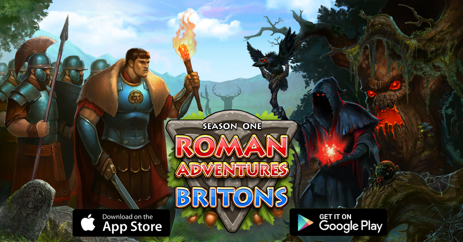 Roman Adventures: Britons Season 1 is now available for iOS and Android!