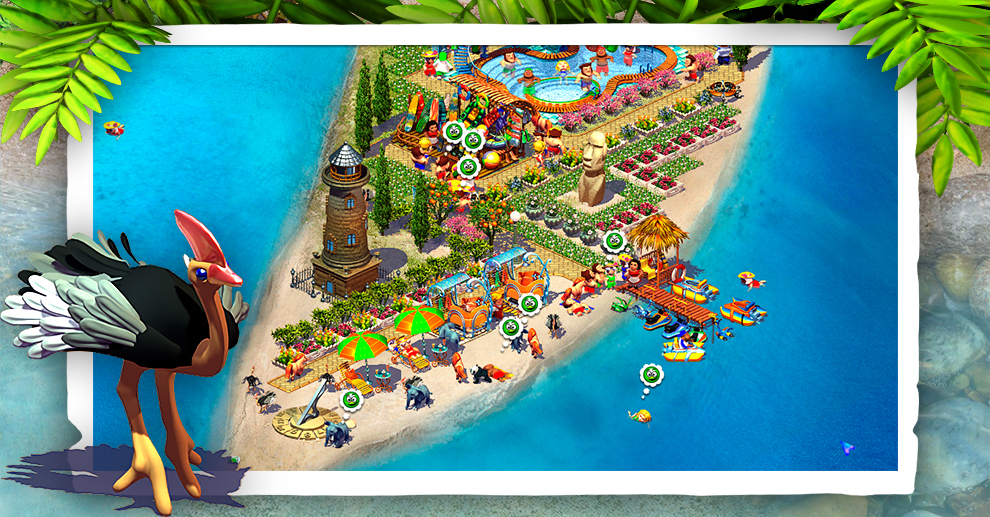Screenshot № 2. Download Paradise Beach 2 and more games from Realore website