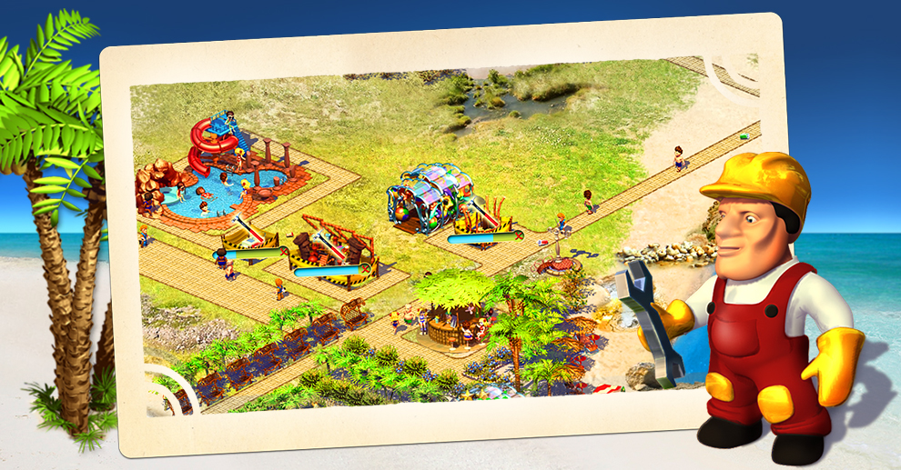 Screenshot № 2. Download Paradise Beach and more games from Realore website