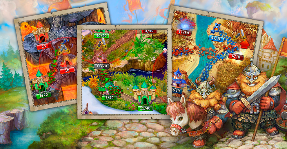 Screenshot № 2. Download Landgrabbers and more games from Realore website