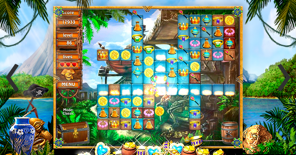 Screenshot № 3. Download Treasure Island and more games from Realore website