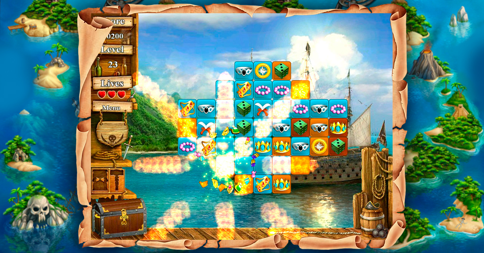 Screenshot № 5. Download Treasure Island 2 and more games from Realore website