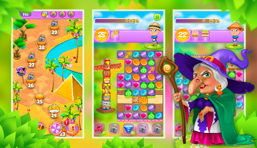 Screenshot № 2. Download Gingerbread Story and more games from Realore website