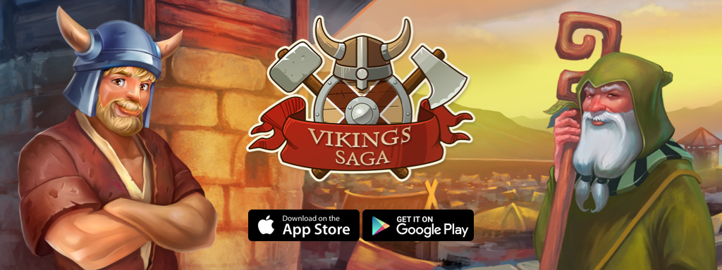 Update of Viking Saga is avaible on iOS and Android!