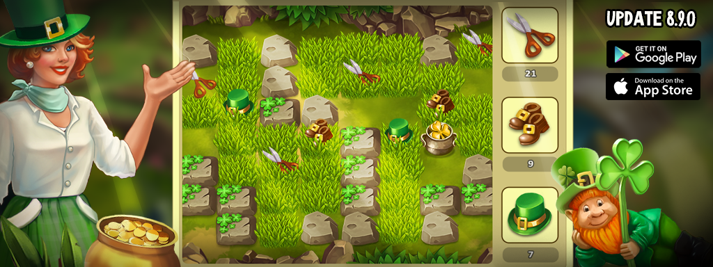 Update 8.9.0 of Jane's Farm is avaible on iOS and Android!