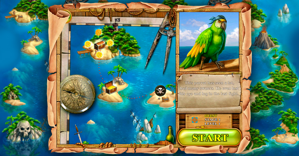 Screenshot № 2. Download Treasure Island 2 and more games from Realore website