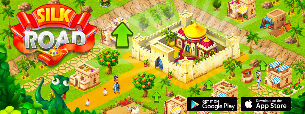 Update of Farm Mania: Silk Road is avaible on iOS and Android!