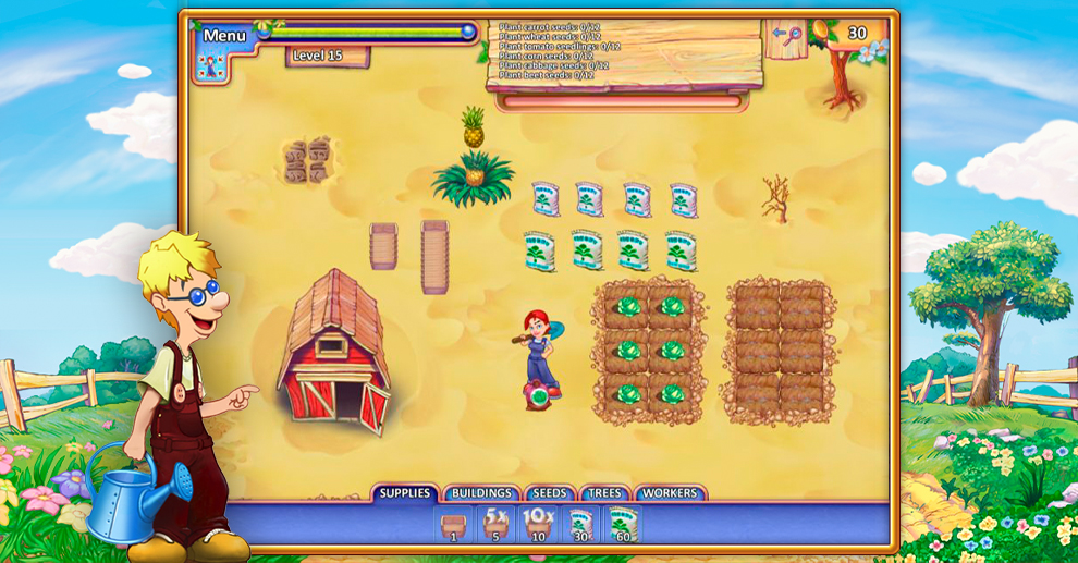 Screenshot № 4. Download FarmCraft 2 and more games from Realore website