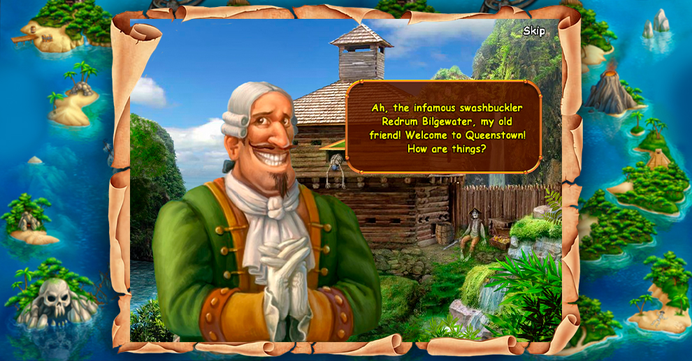 Screenshot № 3. Download Treasure Island 2 and more games from Realore website