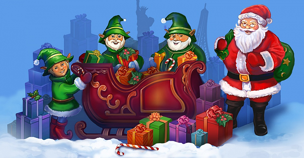 Screenshot № 1. Download Elves Inc.Christmas Mission and more games from Realore website