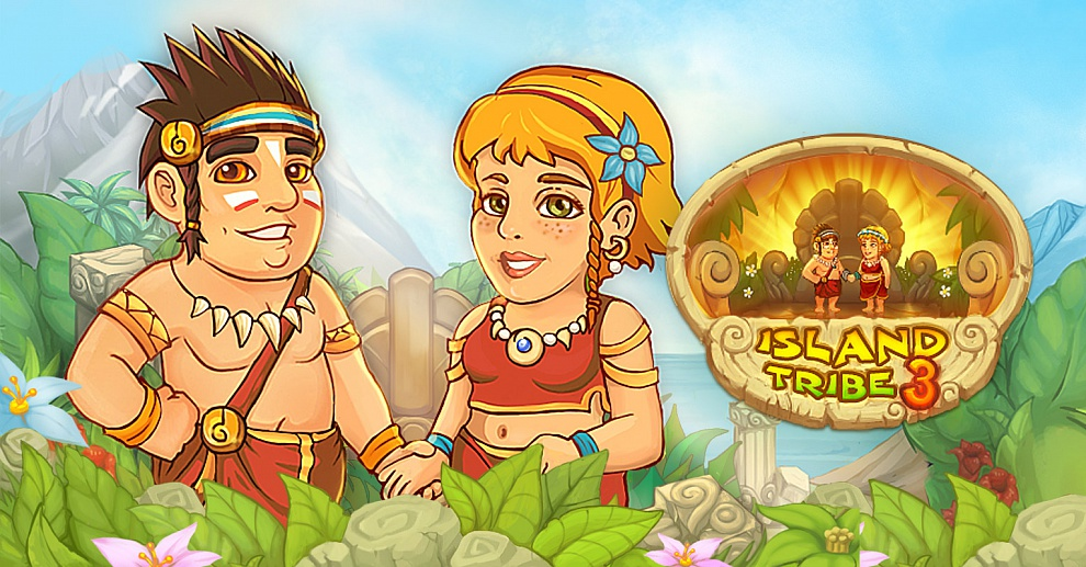 Screenshot № 1. Download Island Tribe 3 and more games from Realore website