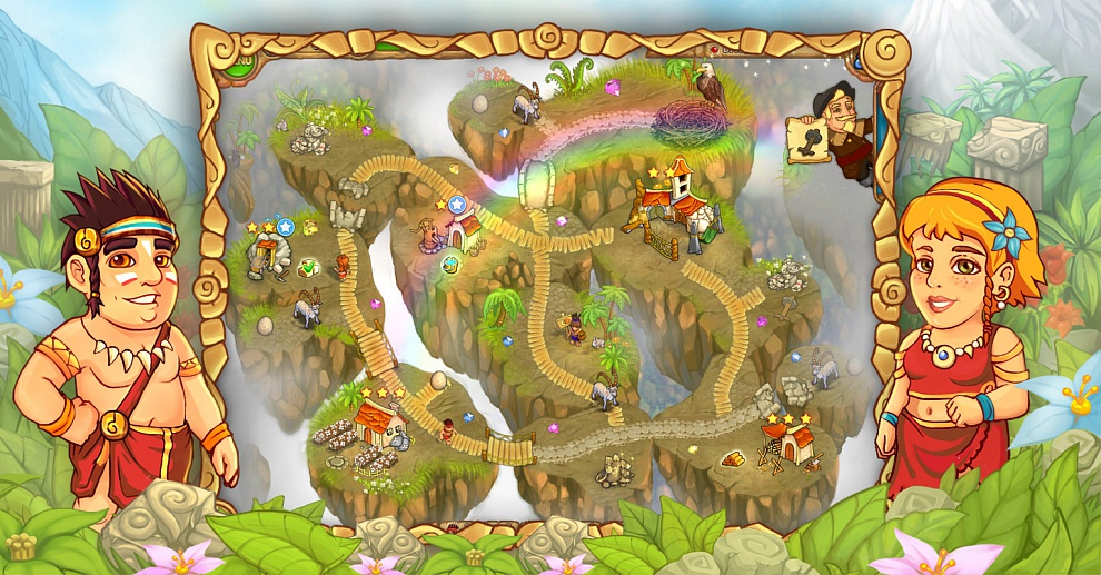 Screenshot № 5. Download Island Tribe 3 and more games from Realore website