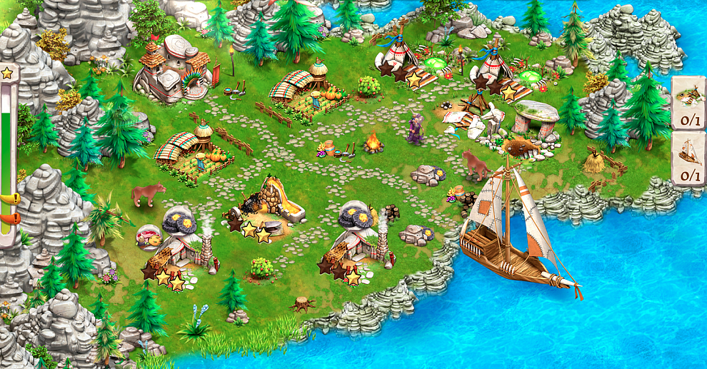 Screenshot № 4. Download Caveman Tales and more games from Realore website