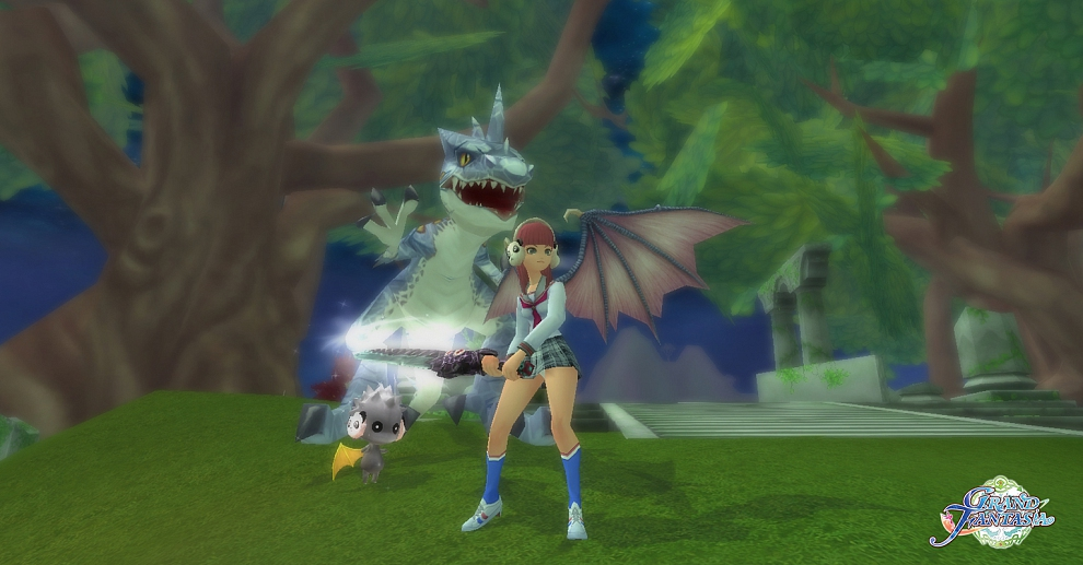 Screenshot № 4. Download Grand Fantasia and more games from Realore website