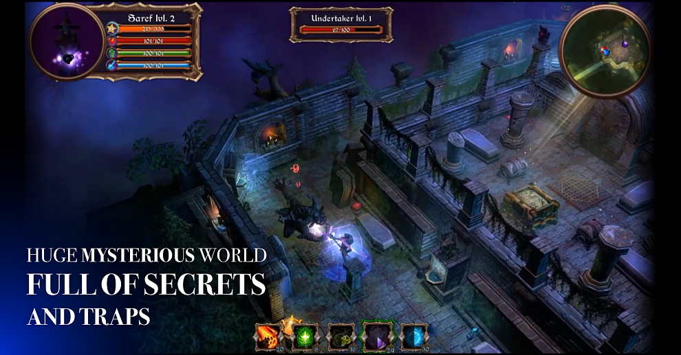 Screenshot № 1. Download Halloween Mysteries and more games from Realore website