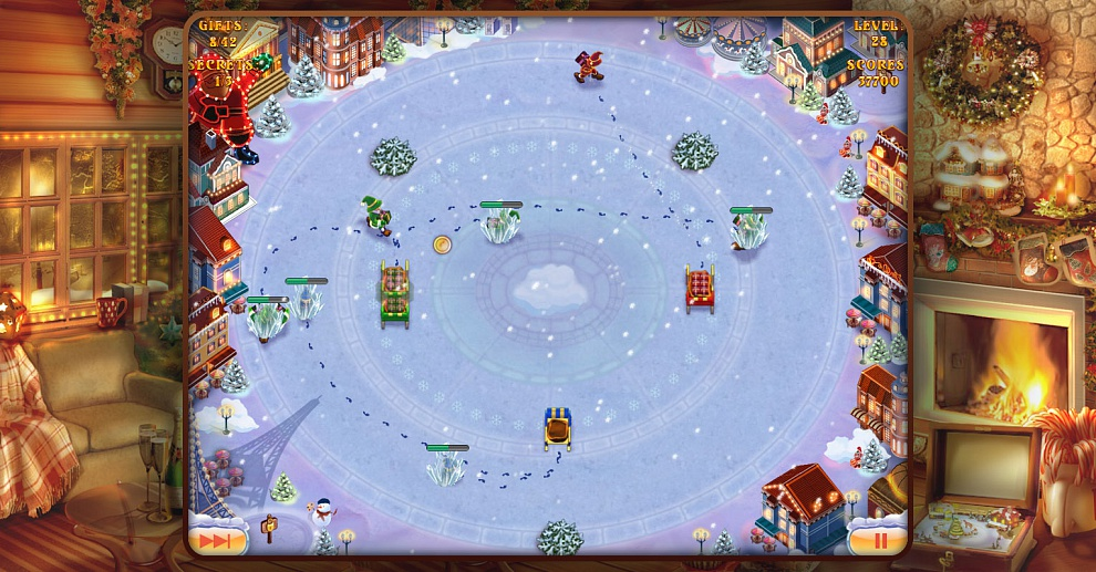 Screenshot № 6. Download Elves Inc.Christmas Mission and more games from Realore website