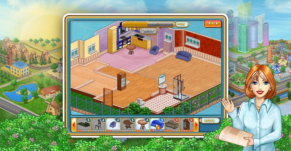 Screenshot № 6. Download Jane's Realty and more games from Realore website