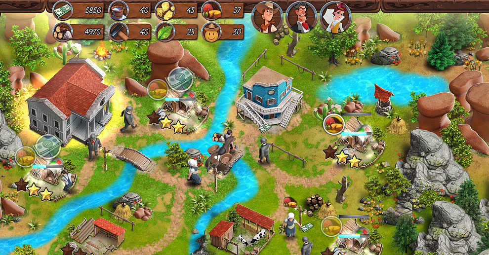 Screenshot № 4. Download Country Tales and more games from Realore website
