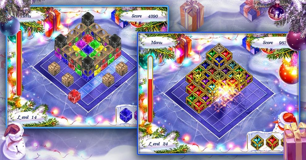 Screenshot № 1. Download Xmas Blox and more games from Realore website