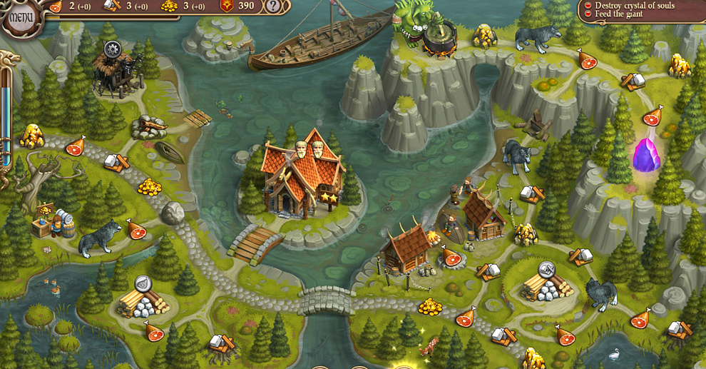 Screenshot № 2. Download Northern Tale 5: Revival. Collectors Edition and more games from Realore website