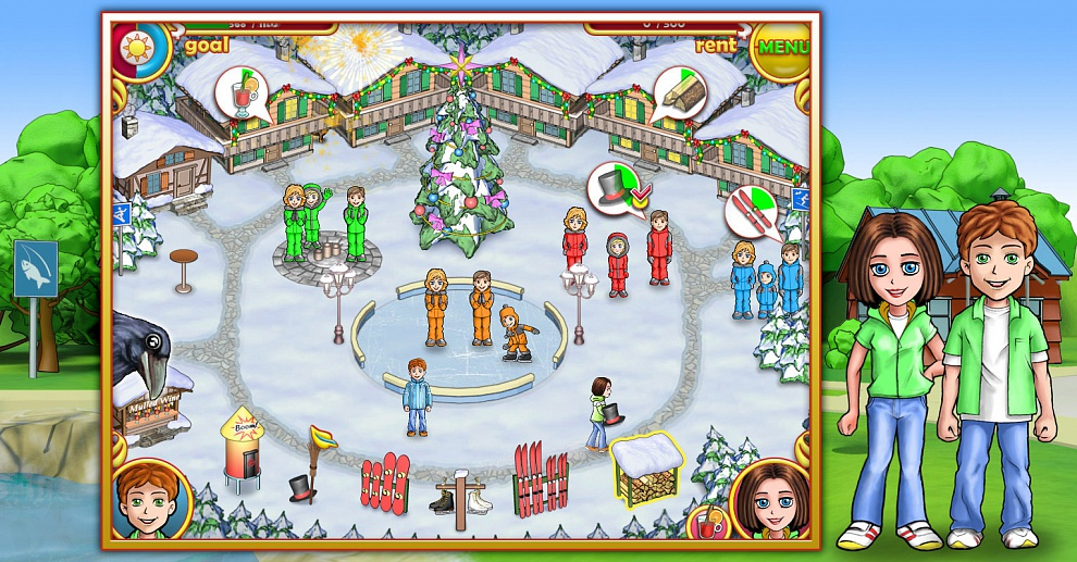 Screenshot № 2. Download Ashtons: Family Resort and more games from Realore website