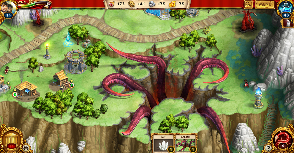 Screenshot № 4. Download Roman Adventures: Britons. Season 2 (Skrill) and more games from Realore website