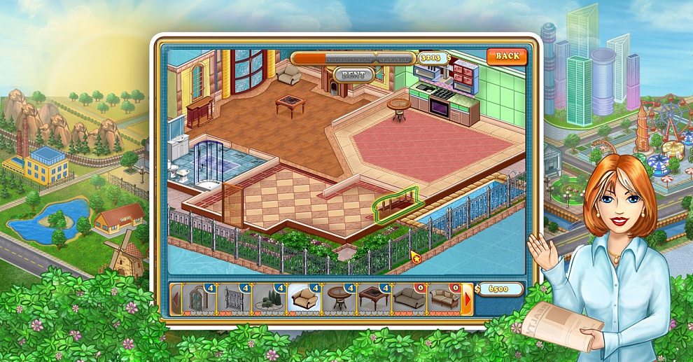 Screenshot № 5. Download Jane's Realty and more games from Realore website